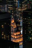 Fototapeta Londyn - Manhattan by nigt