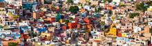 Colorful Cityscape Of Mexican ...
