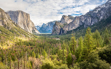 Tunnel View Yosemite National ...