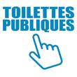 Logo toilettes publiques.