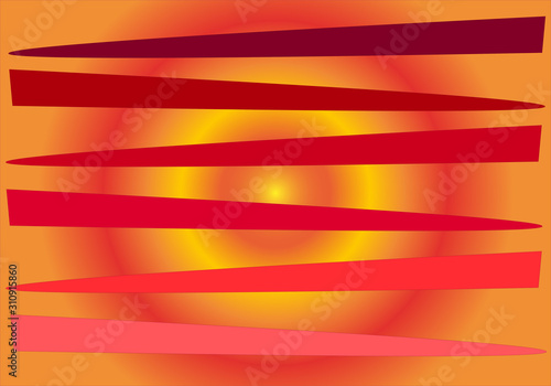 Valokuvatapetti Fondo abstracto de colores cálidos.