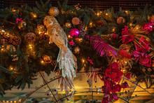 Christmas Decoration On Backgr...