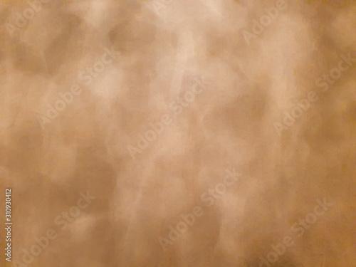 Fototapeta Brown beige wallpaper backdrop with a kind of water reflection pattern obraz na płótnie