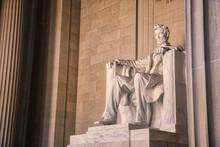 Lincoln Memorial In Washinton DC