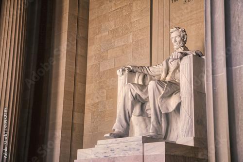 Photo Lincoln Memorial in Washinton DC
