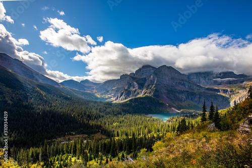 Vászonkép Grinell Glacier Trail - Glacier National Park