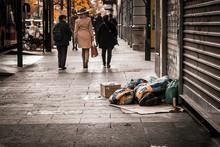 Desigualdades Del Primer Mundo Vagabundos En Europa