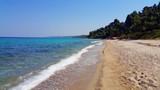 Fototapeta Fototapety z morzem do Twojej sypialni - Chalkidiki Grecja plaża morze piasek