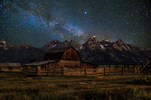 Barn In Grand Teton National P...