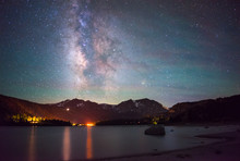 Milky Way Over The June Lake, ...