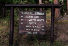 Needles Hifghwy Roadsignm Sout...