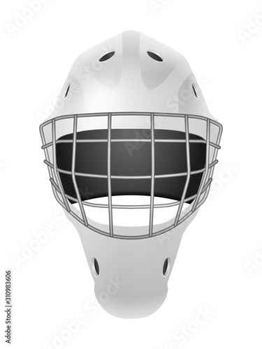 Fotografía Hockey goalie mask
