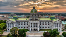 Capitol In Harrisburg, Pennsyl...