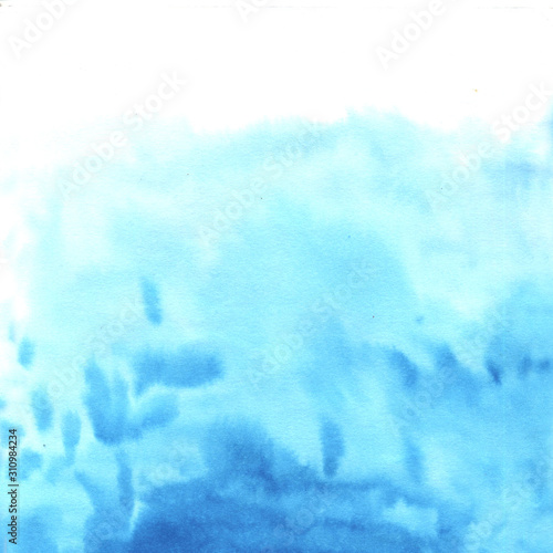 Watercolor hand painted decorative textured spot Wall mural