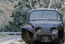 Beetle Scrapped Car.