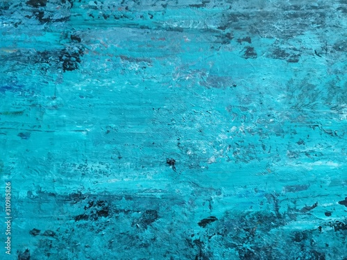 abstract background aquamarine blue colors Canvas Print