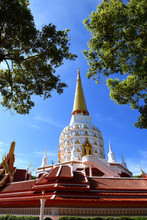 Wat Bang Riang, Wat Rat Upathamin, Temple In Khao Lan Mountains Of Phang Nga Province, Thailand