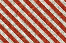 Warning Grunge Stripes