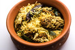 Khaman Gola Bhat is a popular recipe from Nagpur, Vidarbha