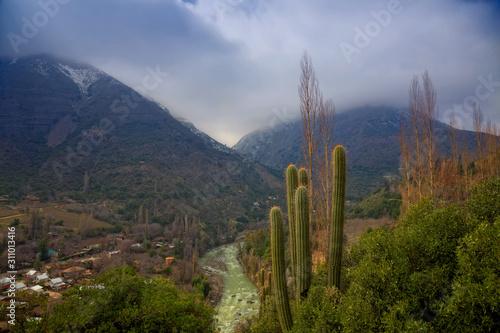 Fotografía Cascada de las Animas in Cajon del Maipo, Chile