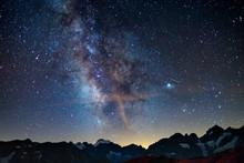 The Milky Way Arch Starry Sky ...
