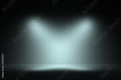 Fototapeta Product showcase spotlight background. obraz na płótnie