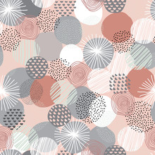Messy Abstract Pattern With Co...