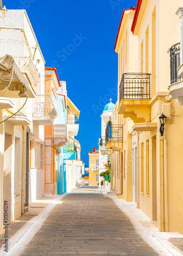 Obraz Wyspa Andros, Cyklady, Grecja - fototapety do salonu