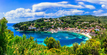 Small Picturesque Island Paxos...