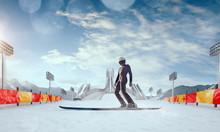 Ski Jumping.