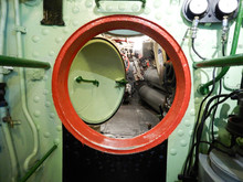 Passage In The Interior Of A Submarine