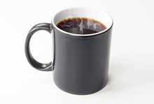 Cup Of Steaming Hot Coffee Iso...