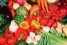 Close-up Of Mixed Fresh Vegeta...