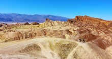 View From Zabriskie Point At D...