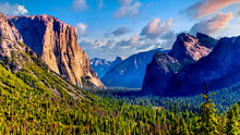 Tunnel View Of Yosemite Valley...