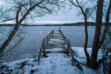 Early Snowfall At Lake Littoin...