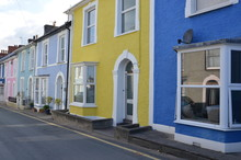 Houses Of Aberystwyth In Cered...