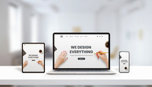 Responsive Agency Web Page On ...