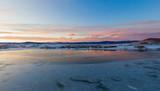 Fototapeta Morze - Sunset on Catamount Lake
