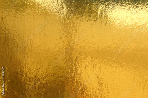 Gold background or texture and Gradients shadow Canvas Print