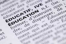 Définition Du Mot éducation ...