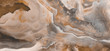 Polished onyx marble with high-resolution, brown tone emperador marble, natural breccia stone agate surface, modern Italian marble for interior-exterior home decoration tile and ceramic tile surface.