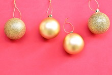 Golden Ball For Decoration In ...
