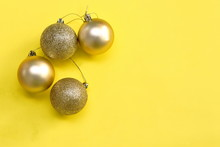 Golden Ball For Decoration In...