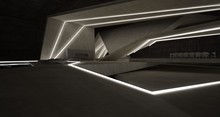 Abstract Architectural Concret...