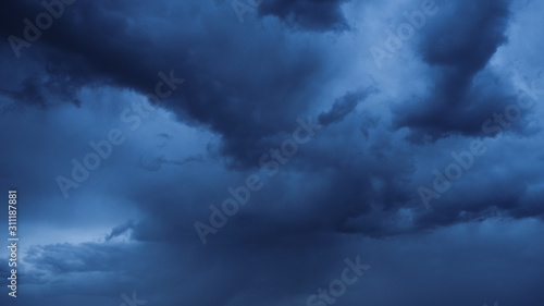 Photo Bases de nimbostratus, avant la pluie