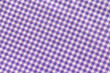 canvas print picture - Classic purple plaid fabric or tablecloth background