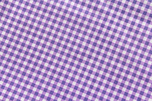 Classic Purple Plaid Fabric Or...
