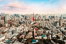 Cityscape Of Tokyo Central At ...