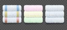 Stacks Of Towels Hygiene